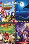 Madagascar Escape 2 Africa (PS2)/ Sea Monsters - A Prehistoric Adventure (PS2)/ Shrek Carnival Craze (PS2)/ The Legend of Spyro Dawn of the Dragon (PS2)