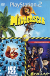 КЕ АСЕ 2: THE MELTDOWN / CORAL1NE / MADAGASCAR (PS2)