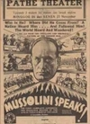 Муссолини говорит!
